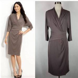 Suzy Chin For Maggie Boutique Wrap Dress